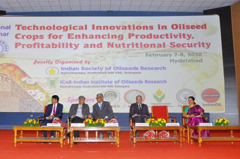 National Seminar on Technological Innovations in Oilseed Crops
